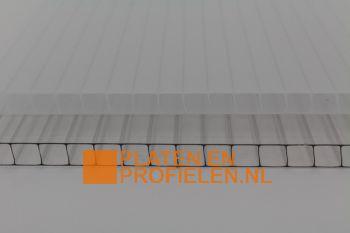 Poycarbonaat kanaalplaat 10 mm - 1050 mm breed