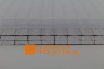 Polycarbonaat platen 16mm - 980 mm breed - Driewandig 3TS