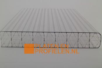 Polycarbonaat kanaalplaat 32 mm - 1200 mm breed