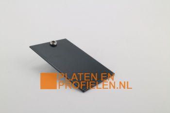 Eindschotje muuraansluitprofiel - RAL7016 / RAL9005 / RAL9010 / Onbehandeld