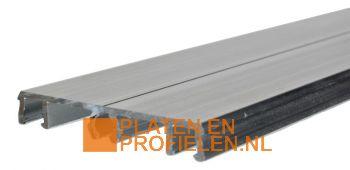 Afdekprofiel - 56 mm breed - Excl. beglazingsrubbers