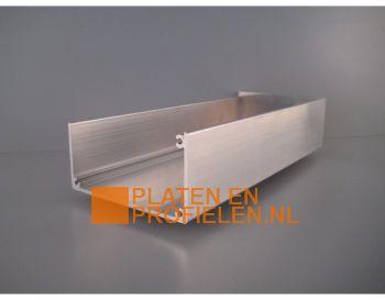 Aluminium bakgootset - Brute aluminium
