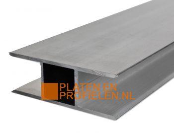 H-profiel voor 16 mm polycarbonaat plaat
