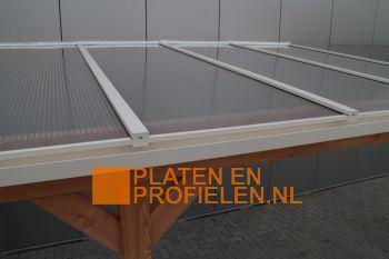 Polycarbonaat Bovenbouw - Dakpakket Premium - Muuraanbouw