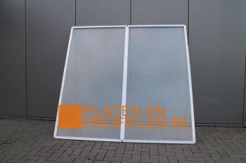 Polycarbonaat Panelen met 2-UV polycarbonaat platen