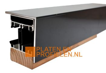 Lichtstraat Profiel LI50 - Nokprofiel Lessenaarsdak