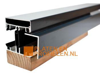 Lichtstraat Profiel LI50 - Zijprofiel