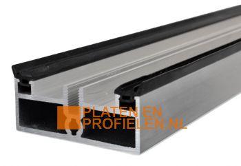 Onderprofiel 22 x 58 mm - Brute Aluminium