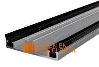 Onderprofiel 7,5 x 58 mm - Brute Aluminium