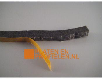 Schuimband, één zijde zelfklevend, 10 mm band
